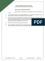 Pre Assessment Questionnaire-fsms
