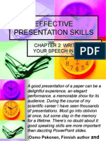 Presentation Skills_writing Out Your Speech in English