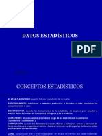 Datos Estadísticos 1