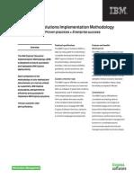 Fs Ibm Cognos Solutions Implementation Methodology