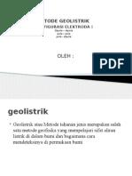 GEOLISTRIK DIPOLE