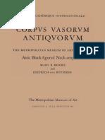 Attic Black Figured Neck Amphorae Corpus Vasorum Antiquorum Fascicule 4