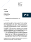 Letter from Sweet Briar counsel asking to dispose of assets