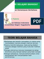 Teori Belajar Bahasa