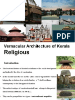 Religious Vernacular Architecture of Kerala