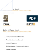 PHDC Cooling With Porous Ceramic 01-06-09
