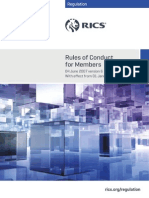 RICS Regulation