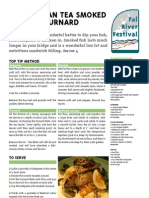Fal river festival 2009 recommended recipes