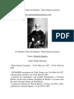 Pierre Gaetan Leymarie - Os Grandes Vultos Da Doutrina