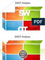 PowerPoint Flow Chart SWOT