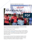 4 S. African Jews Concerned Over Israeli Ban of Gov't Minister