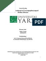 optimal treatment of LPR disease