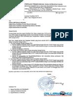 Surat Edaran Kepala BPSDMPK-PMP Tentang Persyaratan NUPTK 2015