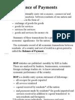 Balance of Payments - presentation