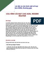[123doc.vn] Tai Lieu Cau Hinh Va Cai Dat Cho Adsl Modem Router PDF
