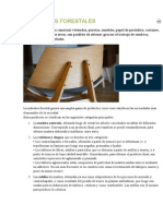 PRODUCTOS FORESTALES