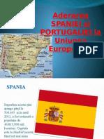 Aderarea Spaniei Si Portugaliei La UE
