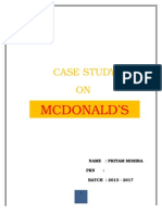 inventory management on mcdonalds