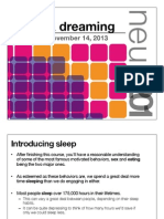 18. Sleep & Dreaming