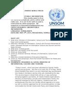 Somalia Marks World Press Freedom Day
