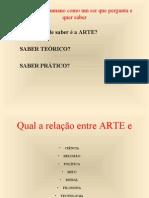 Relação entre ARTE E CIÊNCIA, RELIGIÃO (Barroco)