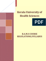 Kerala Syllabus Bams