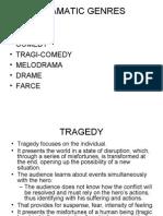 Dramatic Genres1