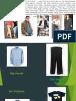 Die Kleidung Und Die Farbe
