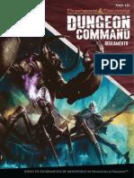 Dungeon Command - Reglamento ESP