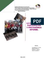 Participación Protagónica Formacion Socio Critico PDF
