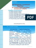 Capital Budegeting (FMP)