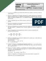 Lista de Exercícios - 3 - Repetição.doc