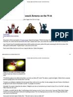 Captain Canuck Returns on the Web