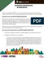 Protocolo Redvolucion Ministerio Tic 2013