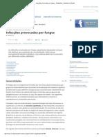 Infecções Provocadas Por Fungos - Medipédia, Conteúdos de Saúde