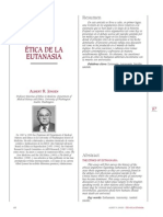 Etica de la Eutanasia