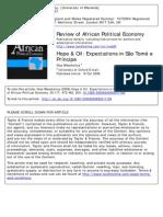 Hope & Oil Expectations in São Tomé e Principe