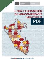 Manual para formación de Mancomunidades Municipales