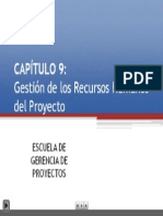 9. Gestión de los Recursos Humanos del Proyecto - EGP+UNI
