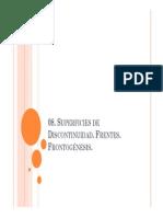 07 Sup. de Discontinuidad. Frentes. Frontogenesis Fatm