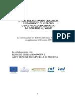 Arpa E. R. - IPPC Nel Comparto Ceramico