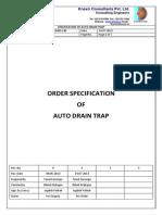 P1064-00-M05-130-R1-Auto Drain Trap
