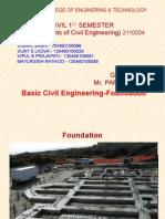 Basic Civil Fondation by Civil1st Sem