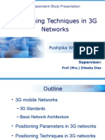 Positioning Techniques in 3G Networks