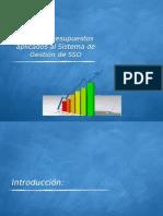 Costos -Presupuesto Aplicados Al SIG SSO