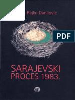 Rajko Danilović - Sarajevski proces 1983
