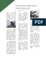 Destrozos del patrimonio cultural en Castilla-La Mancha