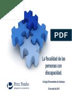 Fiscalidad y Discapacidad - 2015