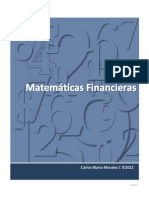 Matemáticas Financieras - Tomo 1