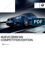 Ficha Tecnica BMW M5 Sedan Competition Edition Automatico 2015